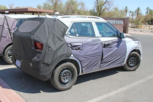 Modelo foi clicado em testes no Vale da Morte, Califórnia (Foto: AutoMedia/Autoesporte)