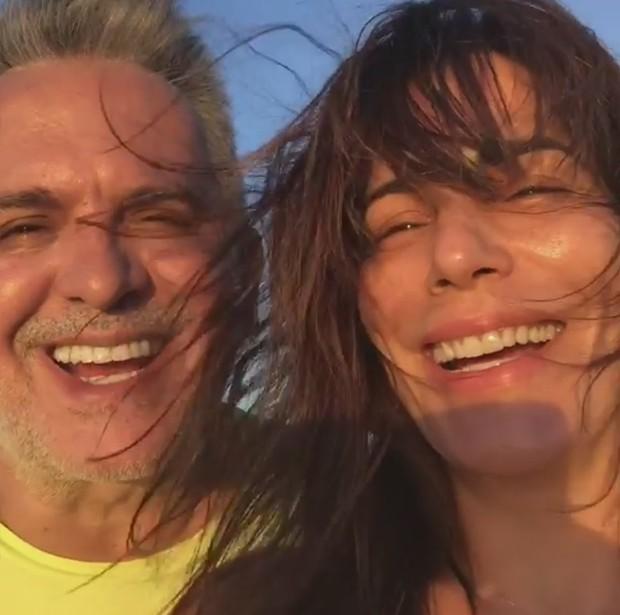 Orlando Morais e Gloria Pires (Foto: Reprodução/ Instagram)