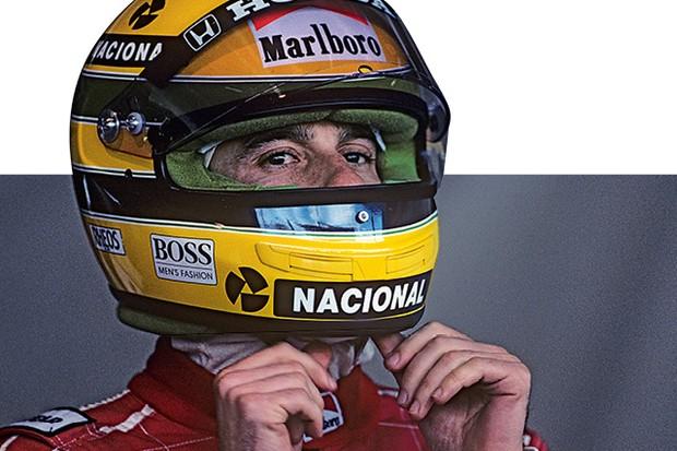 Senna se prepara para entrar com sua McLaren-Honda  na pista de Suzuka, Japão,  em 21 de outubro de 1990. (Foto: PASCAL PAVANI/AFP e Getty images)