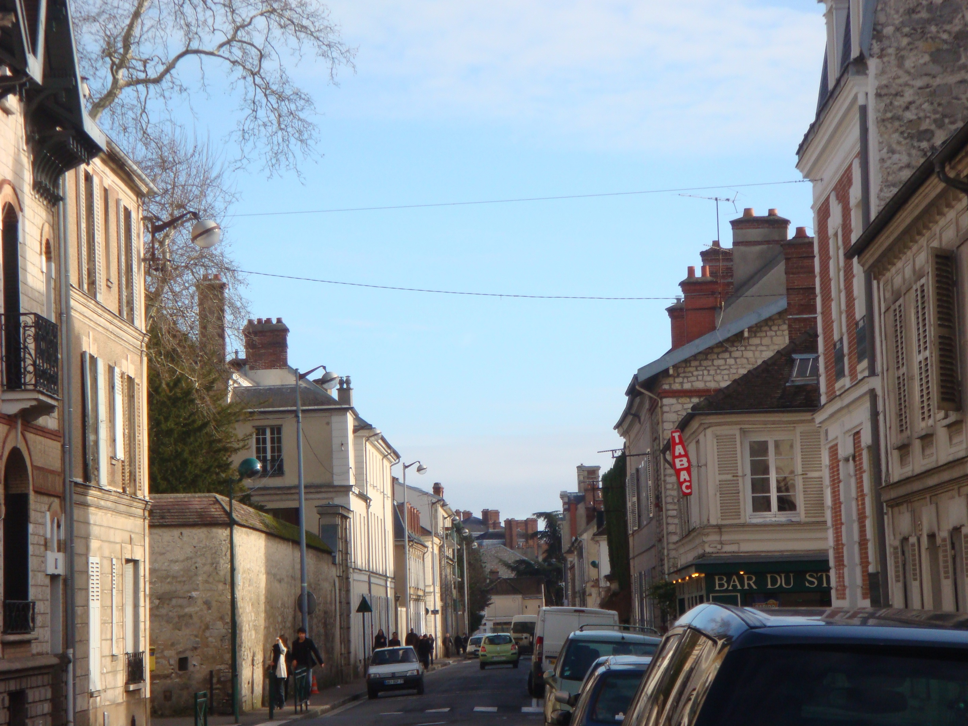 Ruas de Fontainebleau (Foto: Arquivo pessoal)