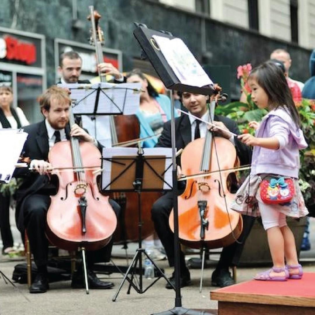 Atrações para crianças são tradição na Virada Cultural (Foto: Reprodução/ Instagram)
