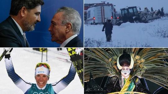 Foto: (Marcos Corrêa/Presidência, Maxim Shemetov/Reuters, Christof Stache/AFP e Marcos Serra Lima/G1)