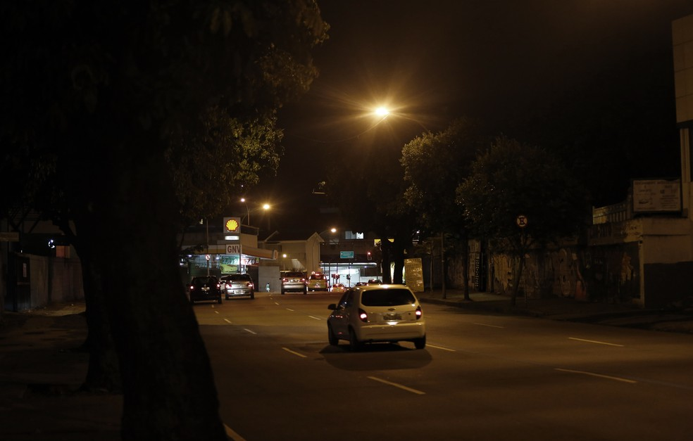 Lugar onde Marielle foi assassinada, na Rua João Paulo I (Foto: Marcos Serra Lima/G1)
