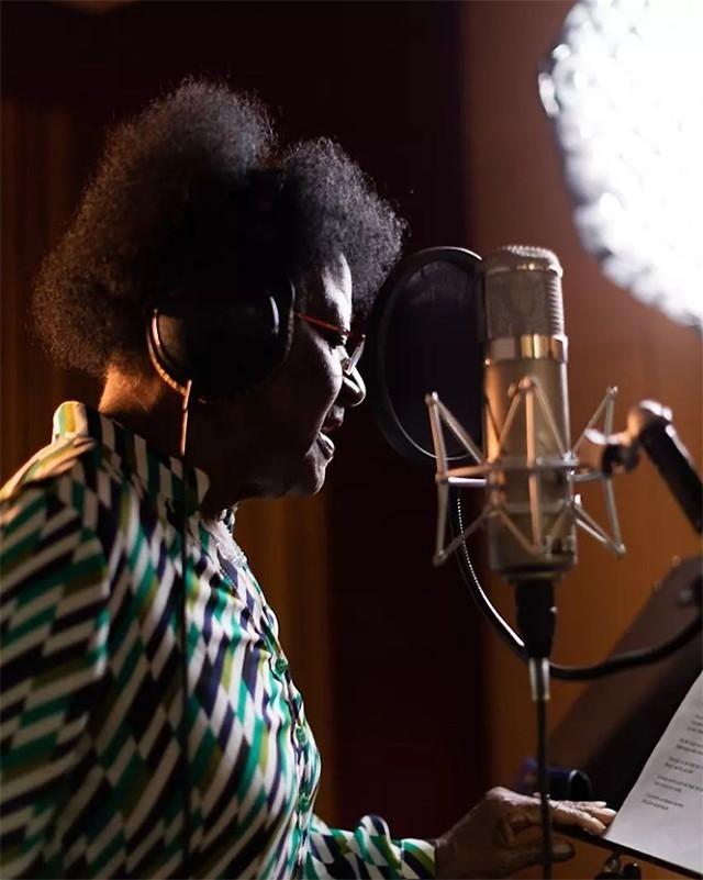 Alaíde Costa grava em São Paulo álbum produzido por Emicida
