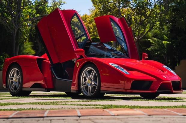 Ferrari Enzo recordista em leilão online  (Foto: Divulgação )