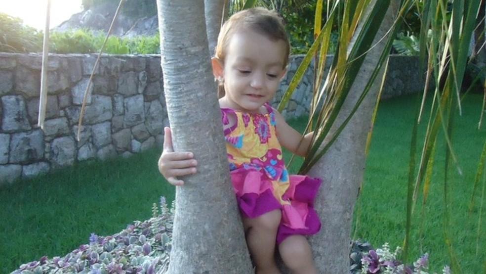 Manuela nasceu em janeiro de 2009 — Foto: Arquivo Pessoal