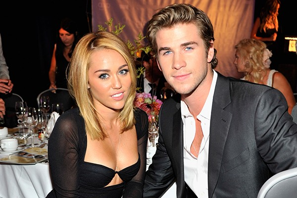 Miley Cyrus e Liam Hemsworth (Foto: Getty Images)