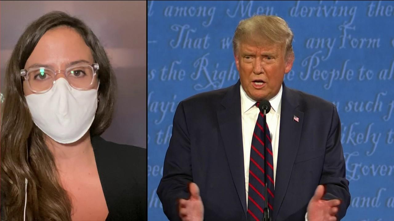 Raquel: diretor da campanha de Trump chama Biden de fraco