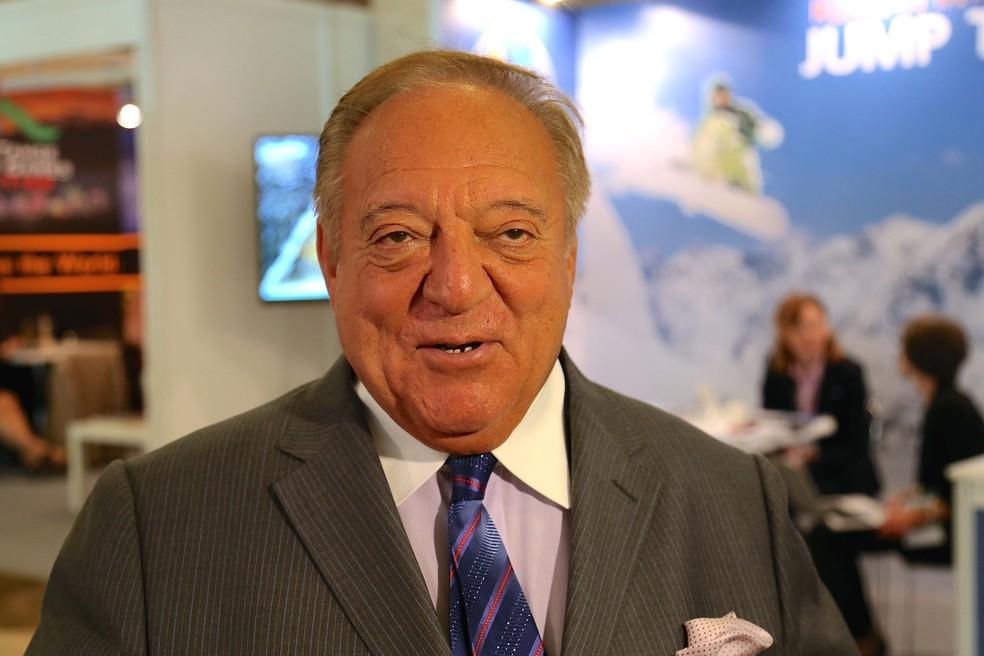 Ex-presidente da Federação Internacional de Levantamento de Peso, Tamás Aján — Foto: Ibrahim Yozoglu/Anadolu Agency/Getty Images