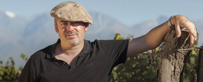O enólogo suíço Richard Bonvin
