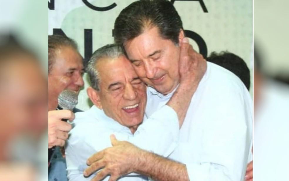 Ex-prefeito de Goiânia homenageia Maguito Vilela em suas redes sociais — Foto: Instagram/Reprodução