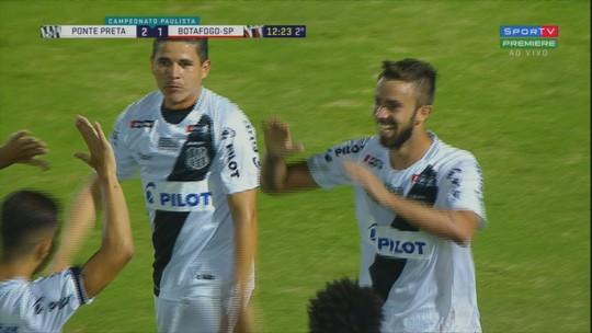 Ponte Preta x Botafogo-SP - Campeonato Paulista 2019 - globoesporte.com