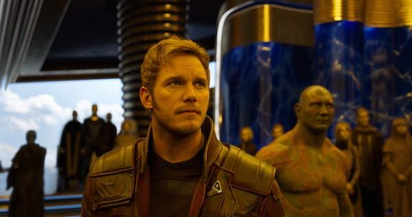 Chris Pratt em cena de Guardiões da Galáxia Vol. 2 (Foto: Divulgação)