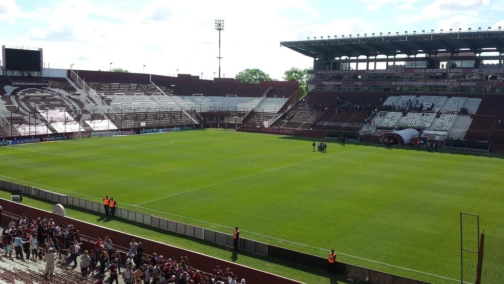 O Estádio Néstor Díaz Pérez, conhecido como La Fortaleza, será palco da decisão da Libertadores (Foto: Jorge Luiz Rodrigues)