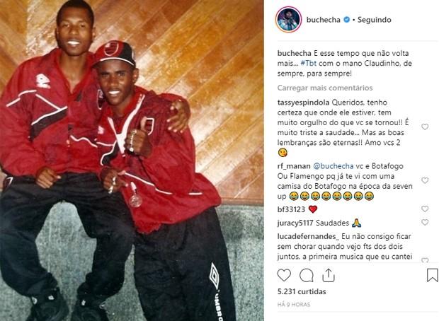 Claudinho e Buchecha (Foto: Reprodução/Instagram)