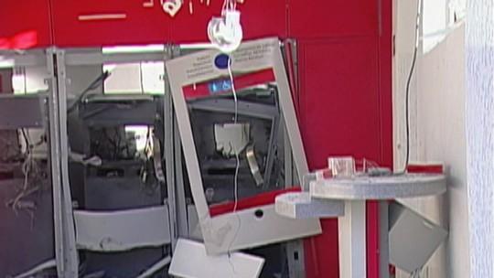Investigação sobre explosões de caixas eletrônicos em Salesópolis é transferida para o Deic