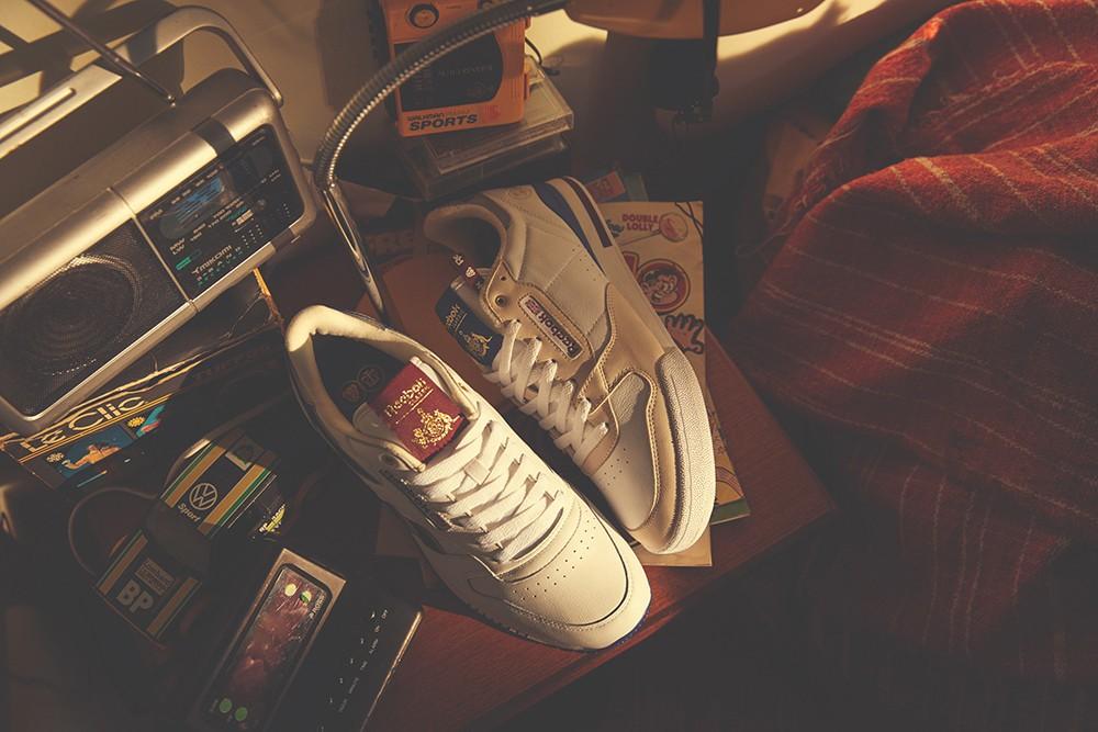 Os Reebok Classics feitos pela Footpatrol com a Highs and Lows (Foto: Divulgação)