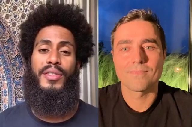 Ícaro Silva e Ricardo Pereira farão 'Cara e coragem' (Foto: Reprodução)