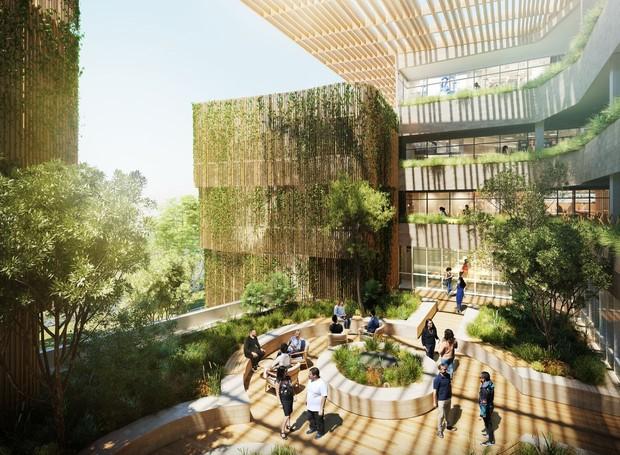 Universidade na Austrália está construindo o primeiro colégio residencial para a população indígena (Foto: Reprodução YouTube University of Technology Sydney)