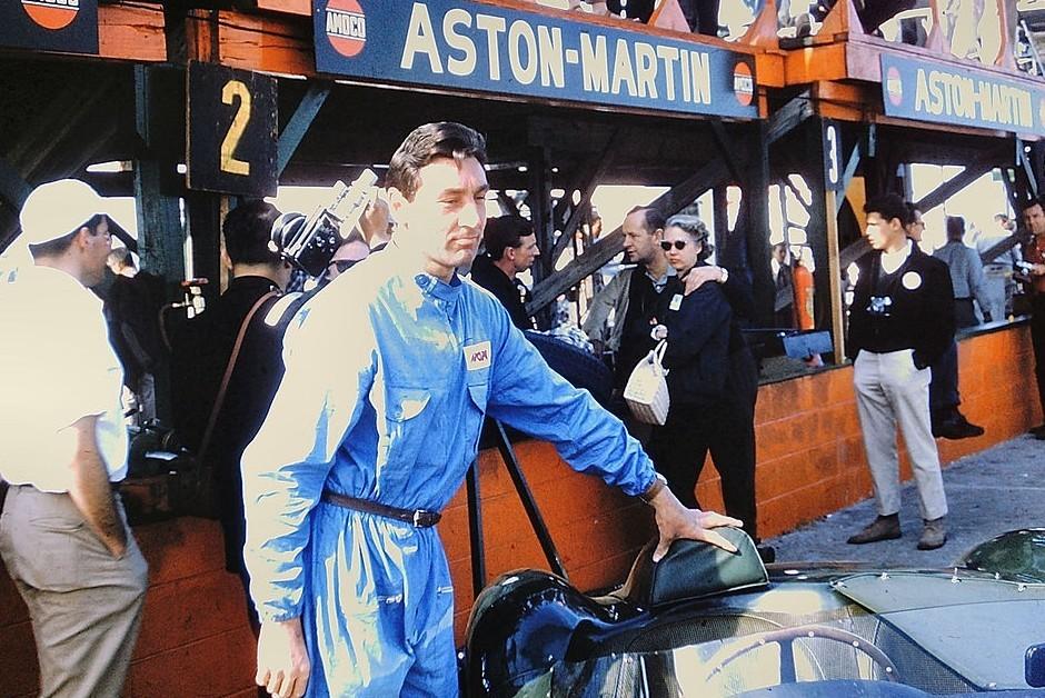 O inglês Roy Salvadori, piloto da Aston Martin em 1959 e 1960 (Foto: Wikimedia Commons)