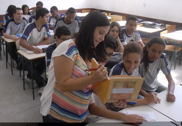 professor, sala de aula, educação, professores (Foto: Agência Brasil)