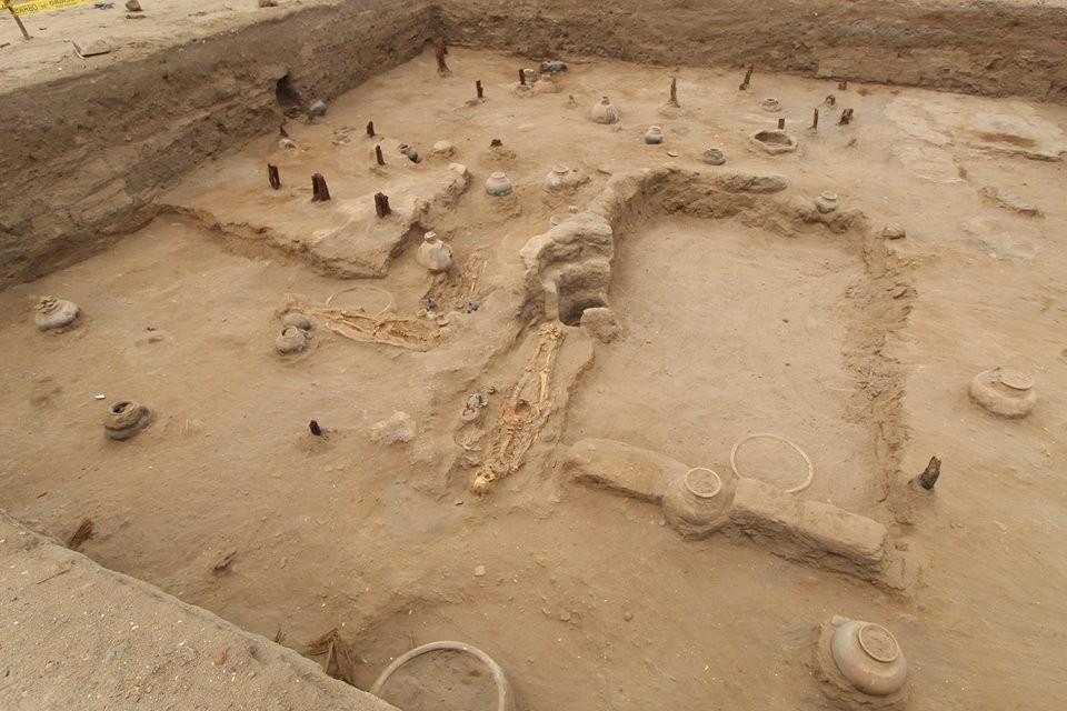 Local das escavações no Peru (Foto: Museo Tumbas Reales de Sipan/Reprodução)