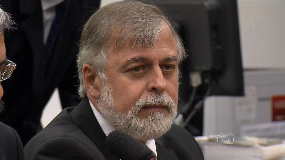 O ex-diretor da Petrobras Paulo Roberto Costa em imagem de 2015 (Foto: Reprodução / TV Globo)
