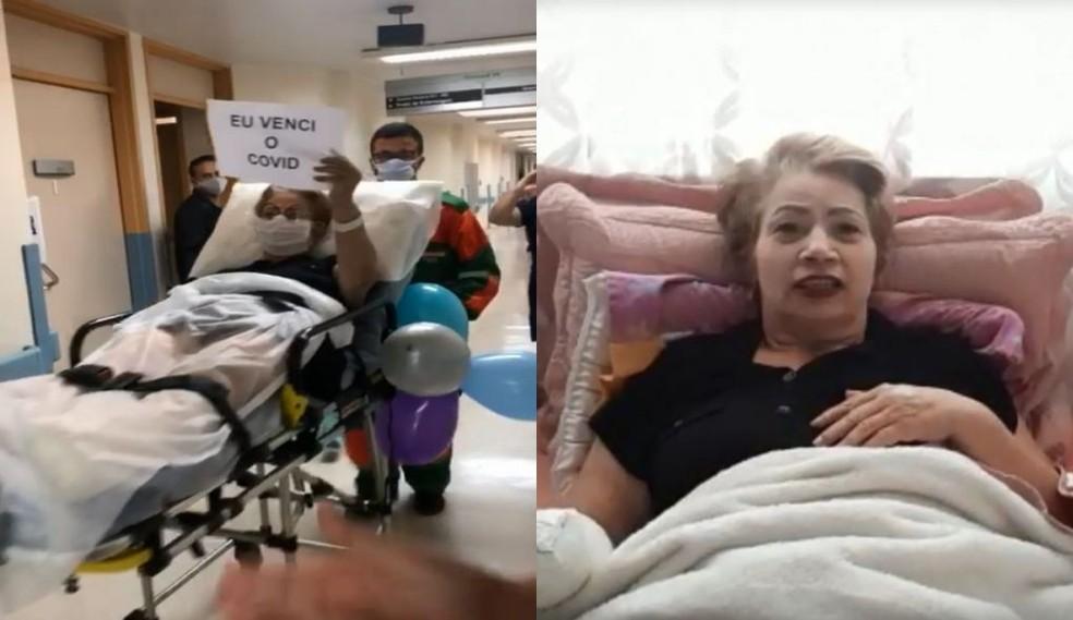 Paciente foi atendida em Sorocaba — Foto: Arquivo pessoal