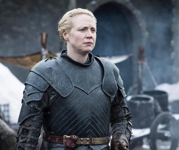 Gwendoline Christie, a Brienne em Game of Thrones (Foto: Dilvulgação/HBO)
