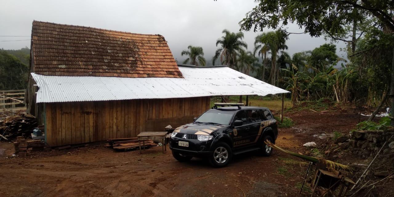 Operação da PF combate trabalho escravo em propriedade rural em Morro Reuter