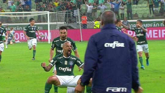 Felipe Melo vive fase mais goleadora no Palmeiras; veja números do volante