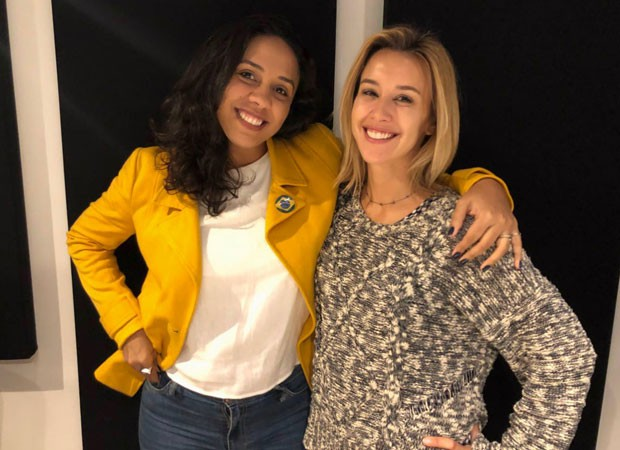 Fabiane Pereira e Cris Dias (Foto: Angélica Cabral/Divulgação)