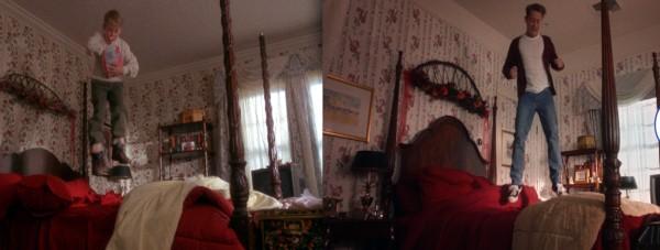 Macaulay Culkin recriando cena do clássico 'Esqueceram de Mim' para anúncio do Google (Foto: Reprodução / YouTube)