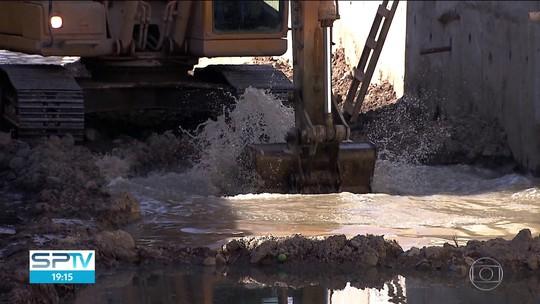 TCM notifica Prefeitura por canalização de córrego sem obra de saneamento