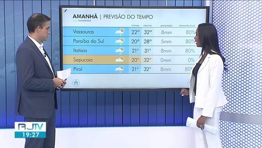 Previsão do tempo: sábado será de tempo instável no Sul do Rio