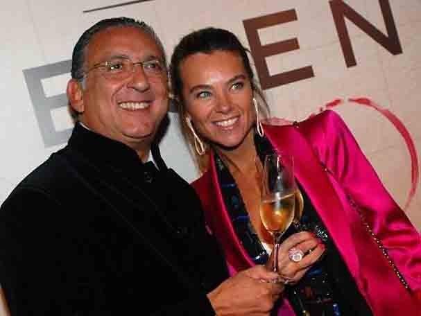 Galvão Bueno e Desirée Soares (Foto: Reprodução/Instagram)
