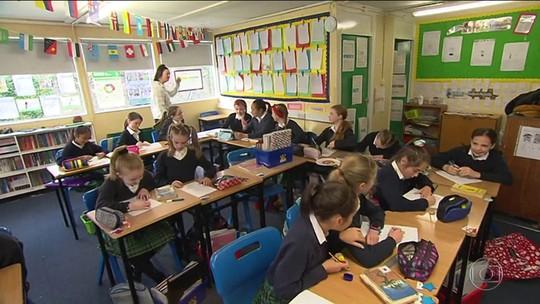 Escola na Irlanda suspende dever de casa para alunos até o quinto ano