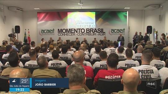 Secretário de Segurança Pública, Guilherme Theophilo participa de palestra na capital
