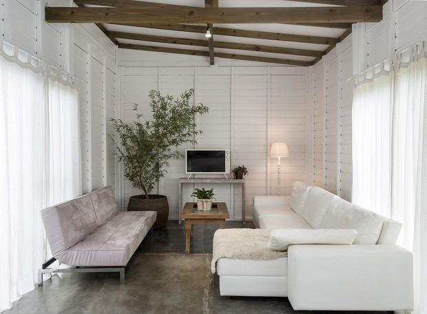 A Casa Bolha é um espaço a mais para a família ficar junta, receber convidados e alugar (Foto: Fernando Willadino/Divulgação)