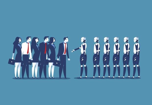tecnologia, robô, automação, futuro do trabalho, inteligência artificial (Foto: Thinkstock)