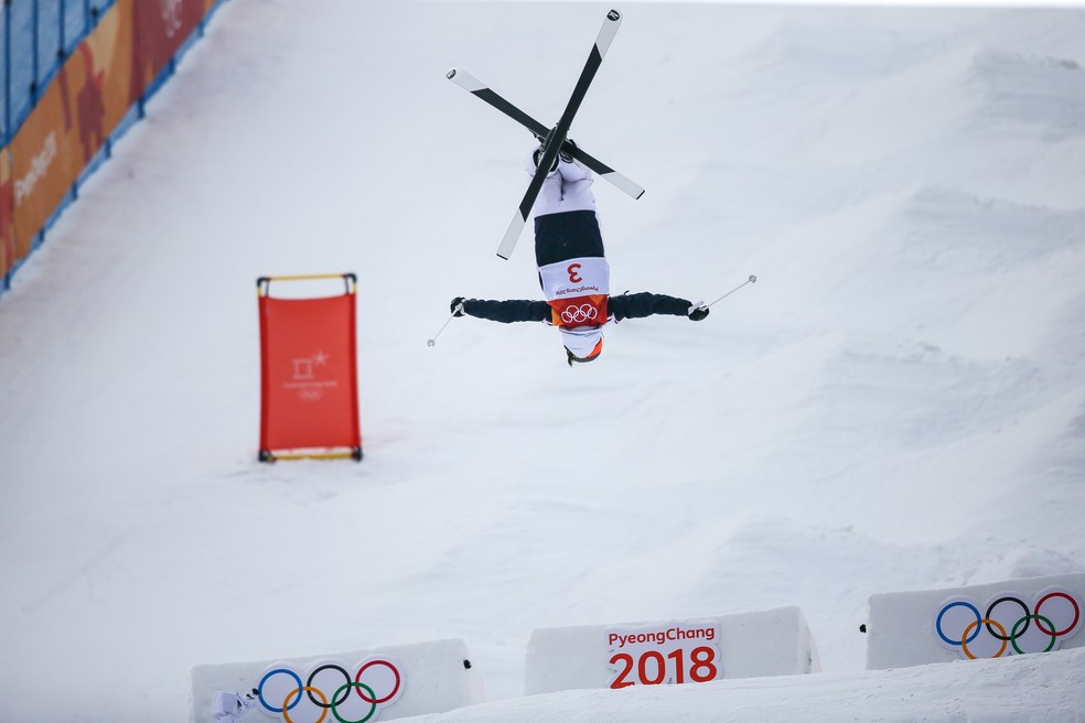 Perrine LaFont lidera primeiro dia na Olimpíada de Inverno (Foto: Laurent Salino/Agence Zoom/Getty Images)