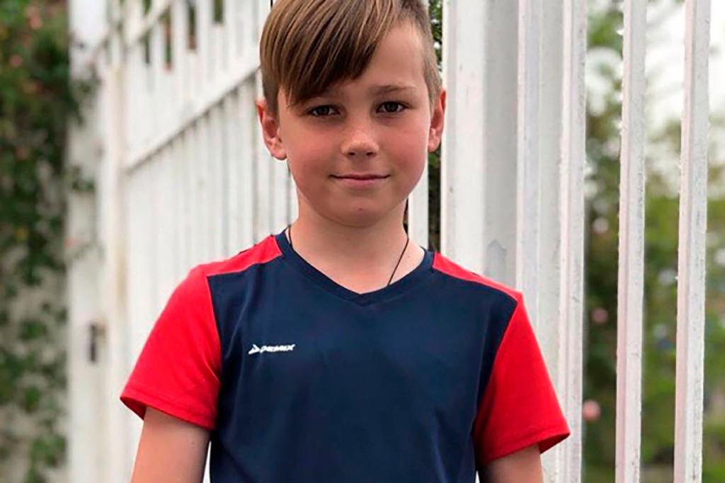 O menino Nikita, de 11 anos, foi morto por dois ursos na Rússia (Foto: Reprodução)
