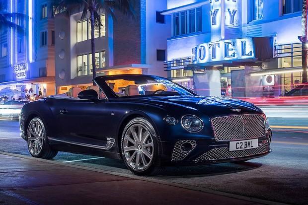 Bentley Continenal GT conversível 2020 (Foto: Divulgação)
