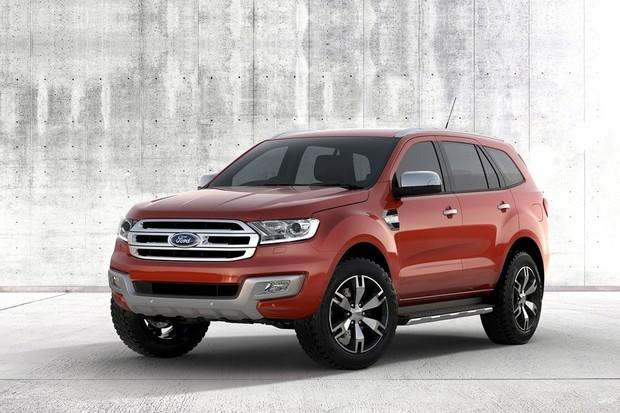 Ford Everest (Foto: Divulgação)