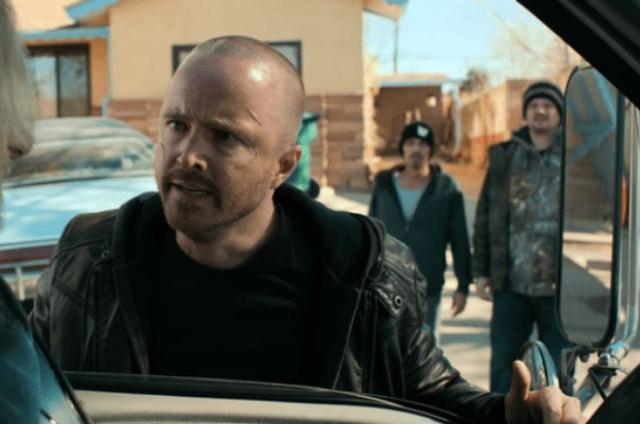Aaron Paul em cena do filme 'El camino' (Foto: Netflix)
