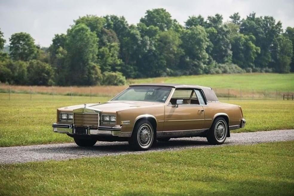 Cadillac Eldorado foi o primeiro carro que ele comroou  — Foto: Divulgação