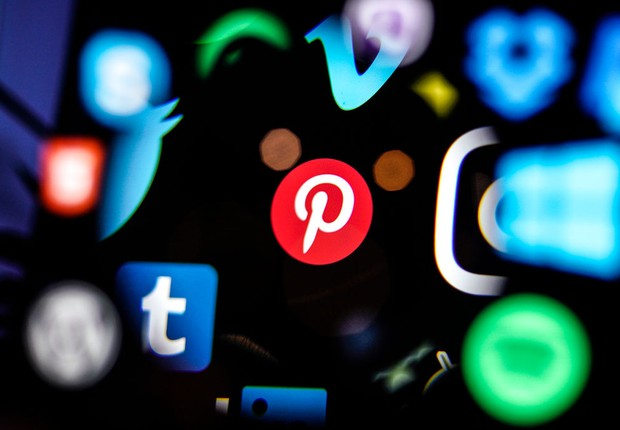 Logomarca do Pinterest (Foto: Getty images)