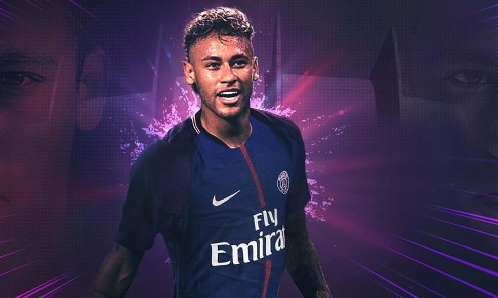 Neymar é o novo reforço do PSG (Foto: Reprodução)