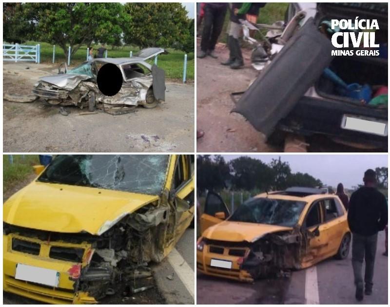Homem é indiciado pela Polícia Civil por ter causado acidente que deixou um morto e oito feridos em Serra dos Aimorés