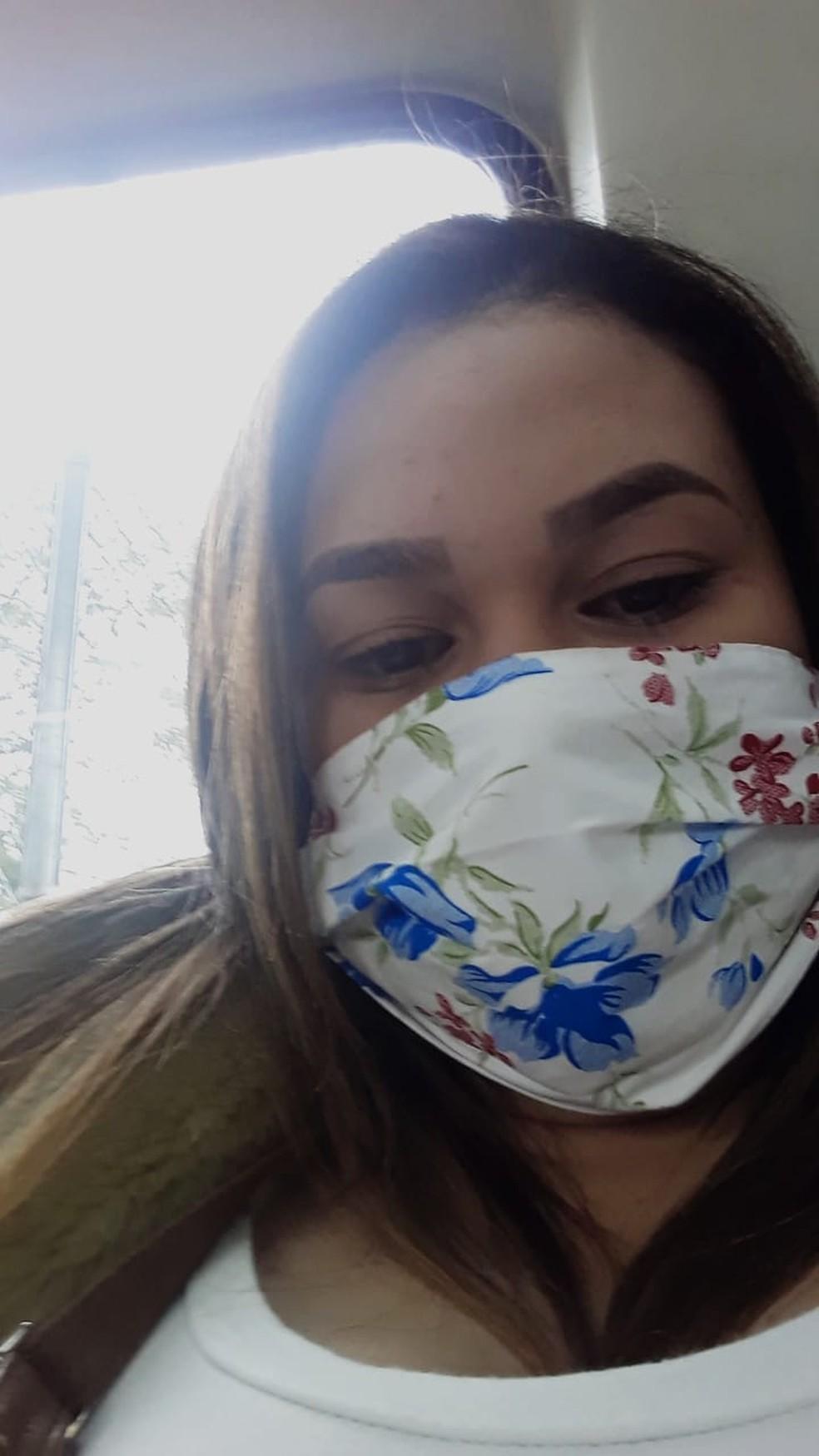 Jenifer Carvalho dos Santos deixou de receber o Auxílio Emergencial — Foto: Arquivo pessoal